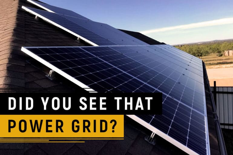 Did you see that Power Grid